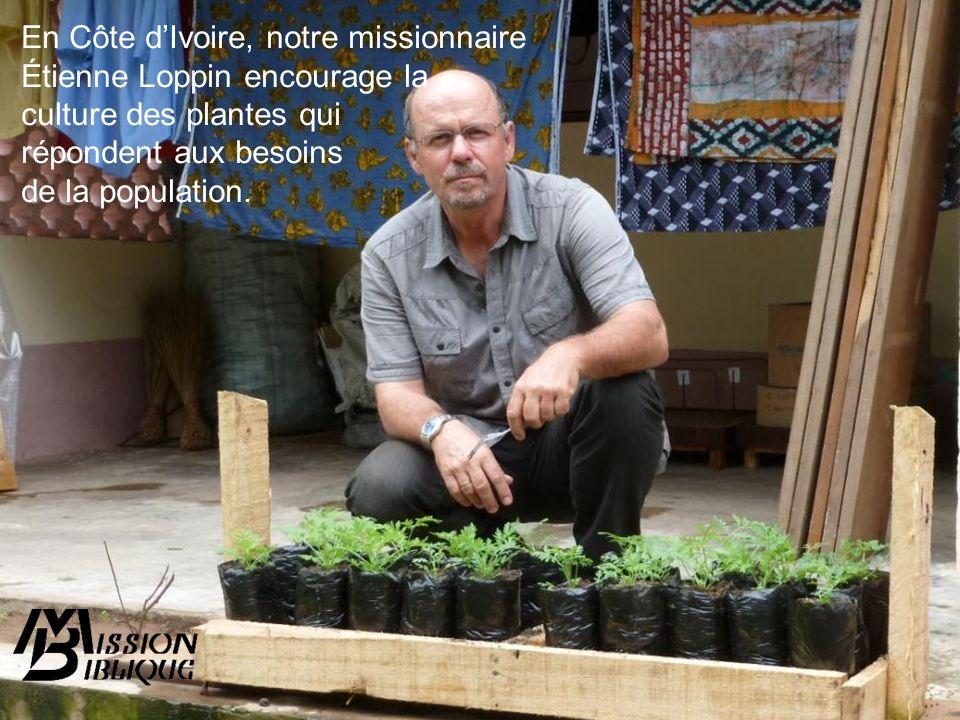 En Côte d'Ivoire, notre missionnaire