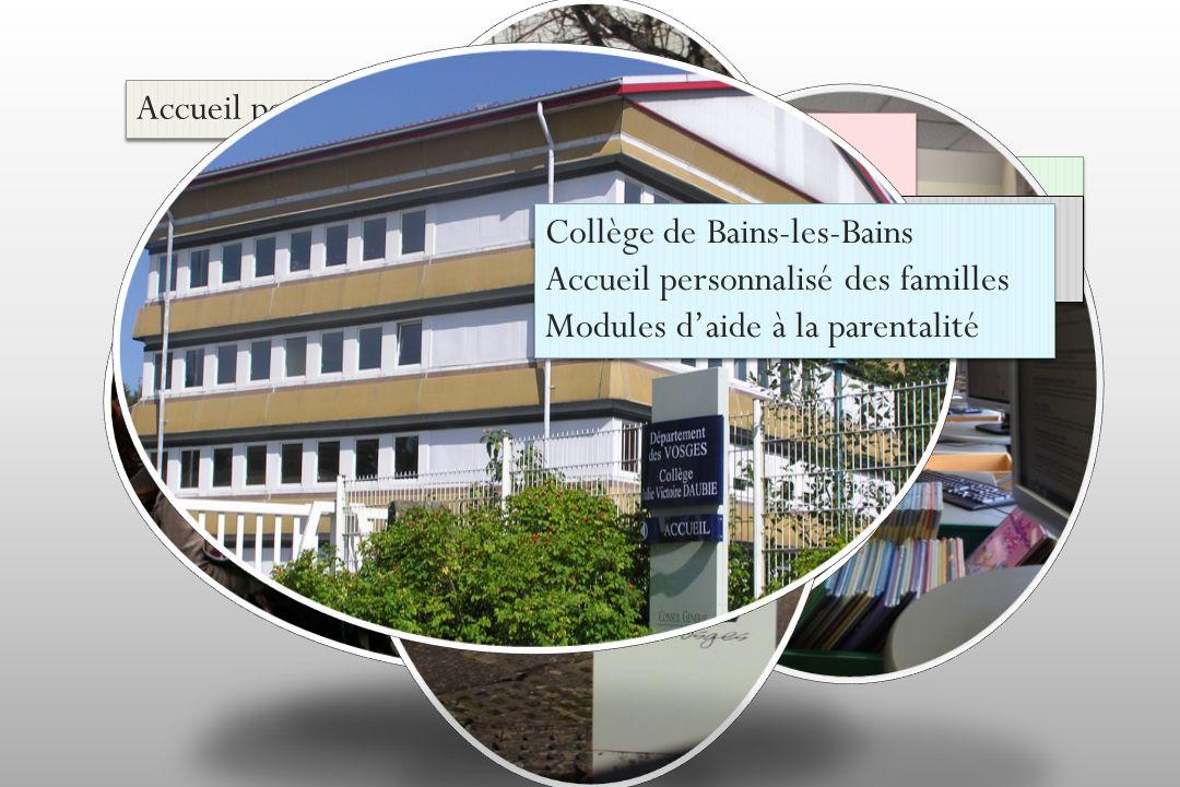 Accueil personnalisé des familles