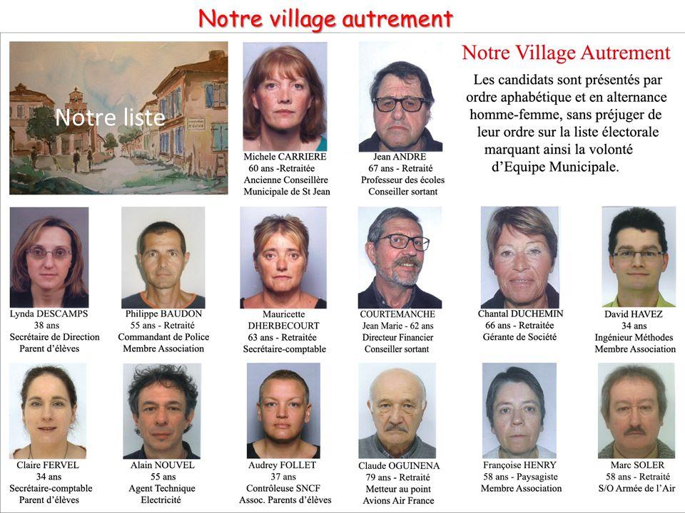 Notre village autrement