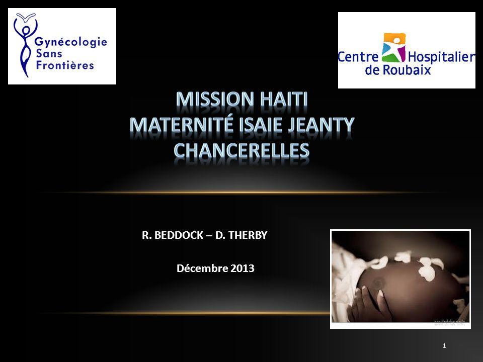 Mission HAITI Maternité isaie jeanty Chancerelles