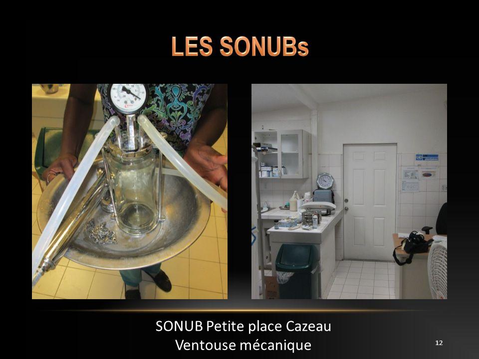SONUB Petite place Cazeau