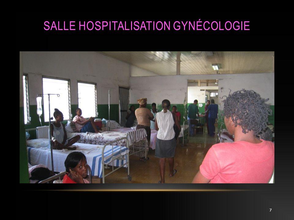 Salle Hospitalisation Gynécologie