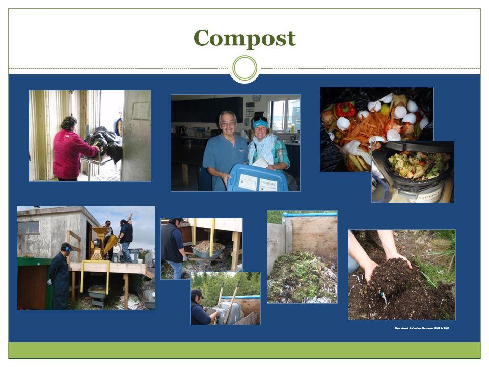 Compost Ellen Avard & Jacques Bertrand, 2012 & 2013