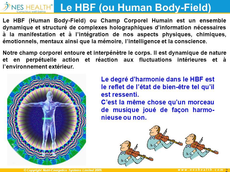 Le HBF (ou Human Body-Field)