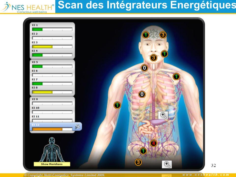 Scan des Intégrateurs Energétiques