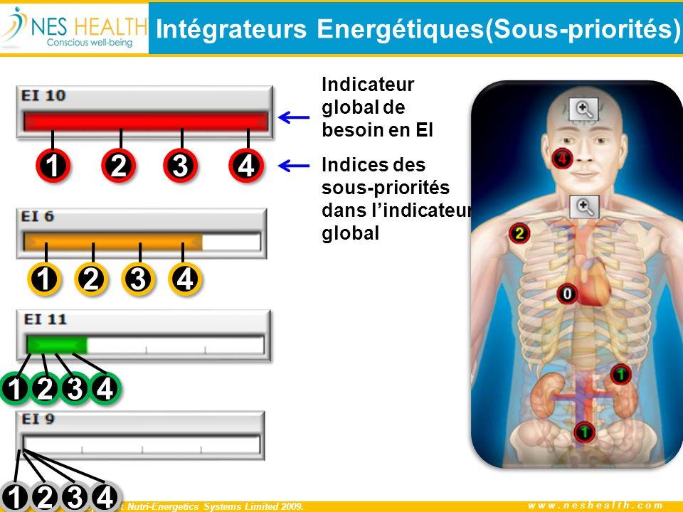 Intégrateurs Energétiques(Sous-priorités)