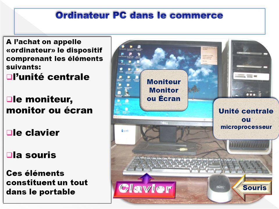 Ordinateur PC dans le commerce