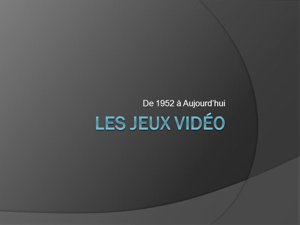 De 1952 à Aujourd'hui Les jeux vidéo