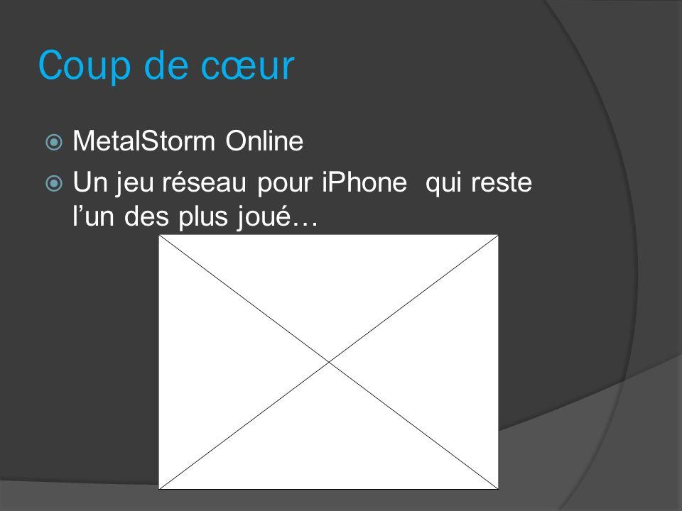 Coup de cœur MetalStorm Online