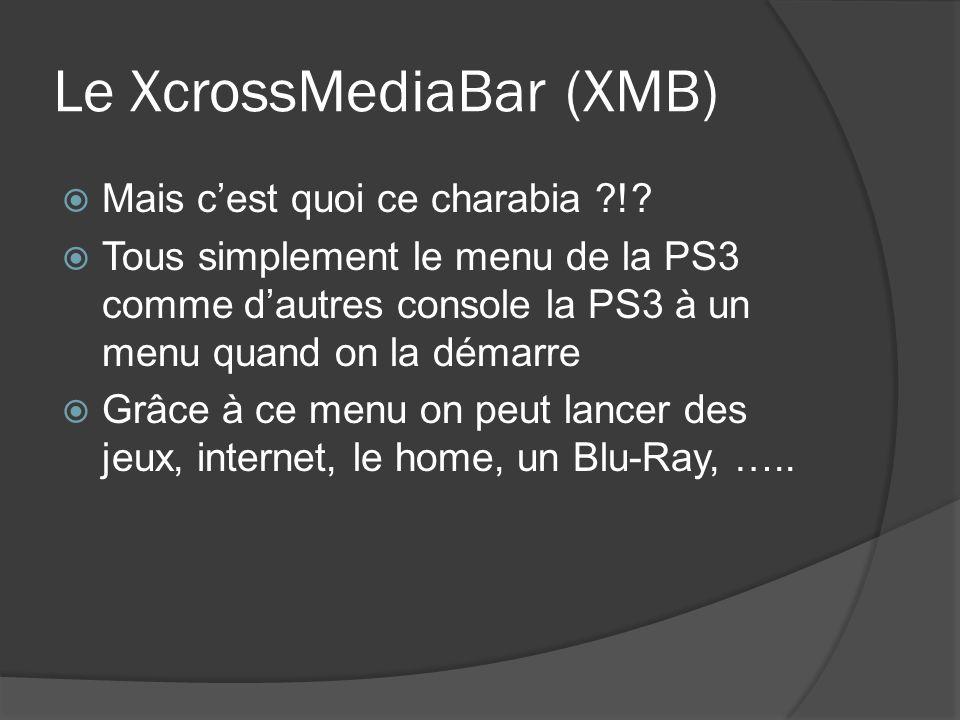 Le XcrossMediaBar (XMB)