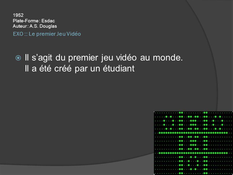EXO :: Le premier Jeu Vidéo