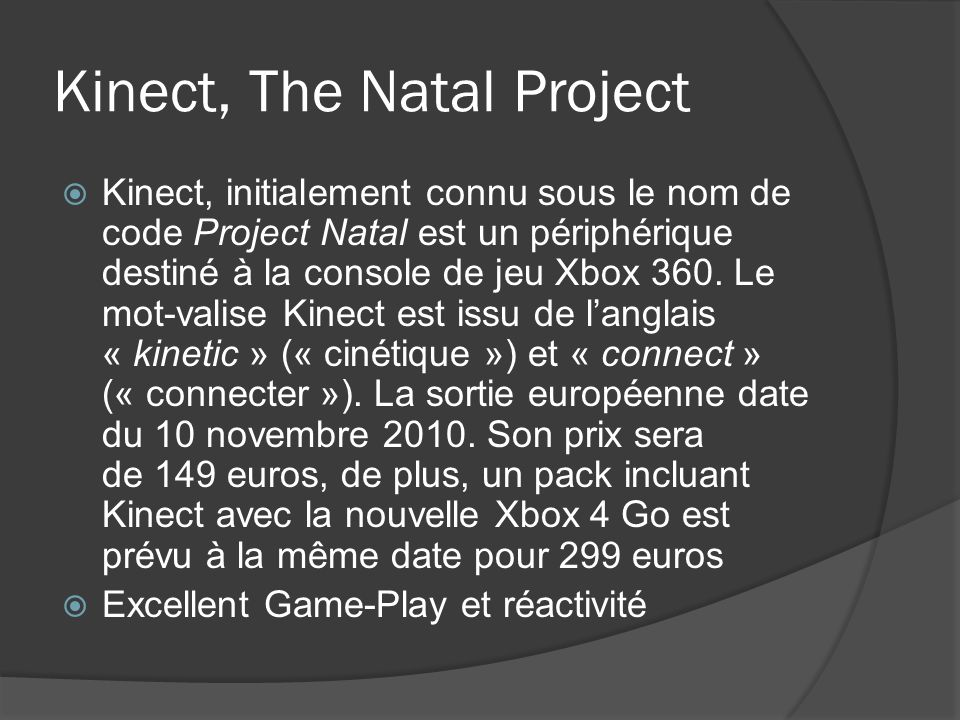 Kinect, The Natal Project