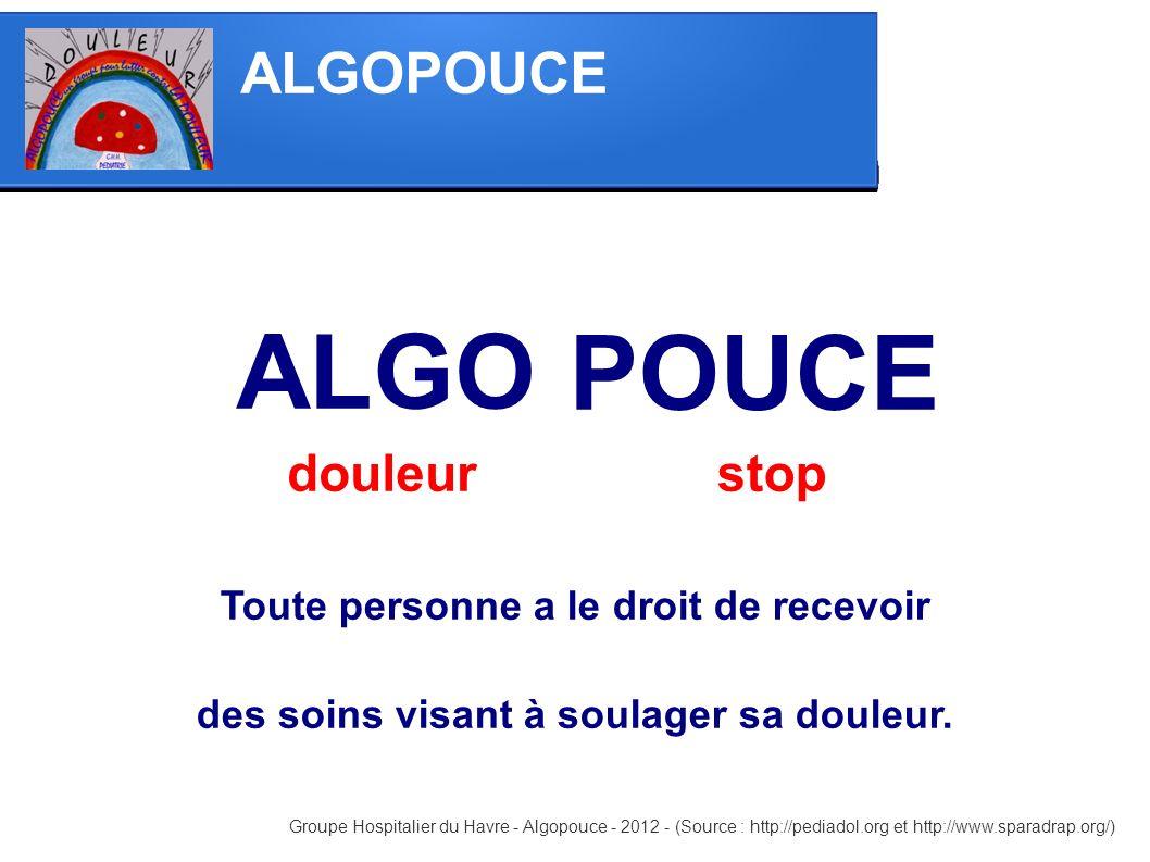 ALGO POUCE ALGOPOUCE douleur stop
