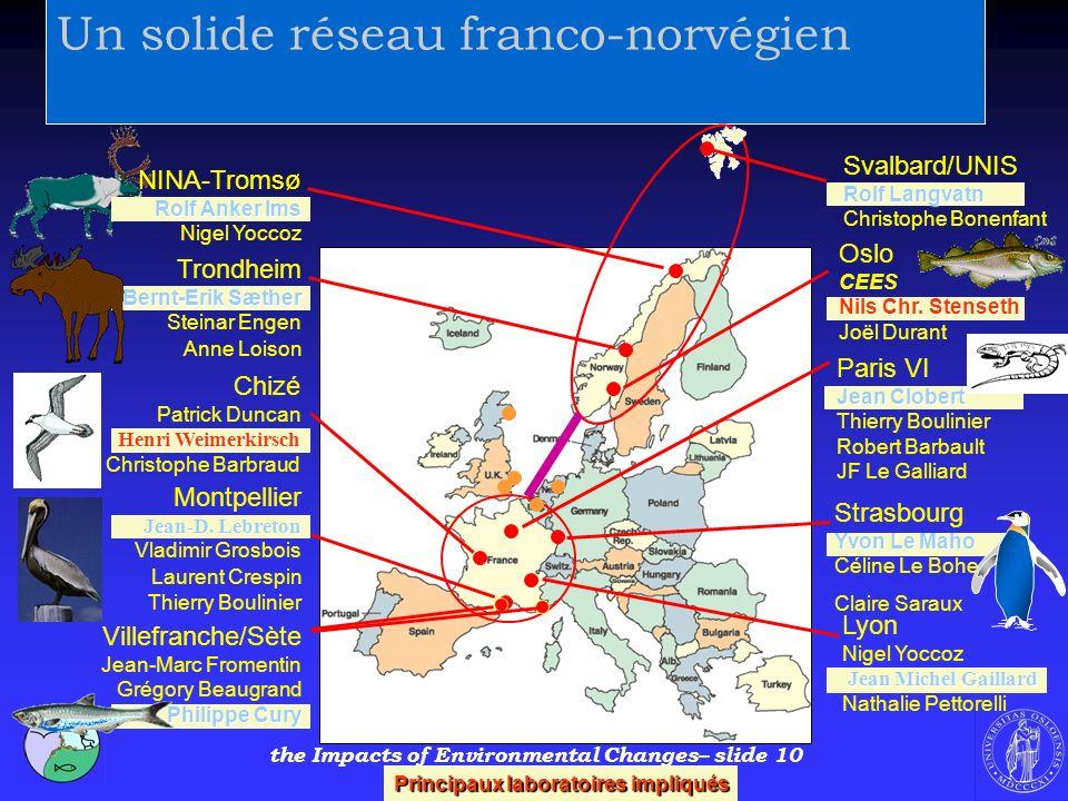 Un solide réseau franco-norvégien