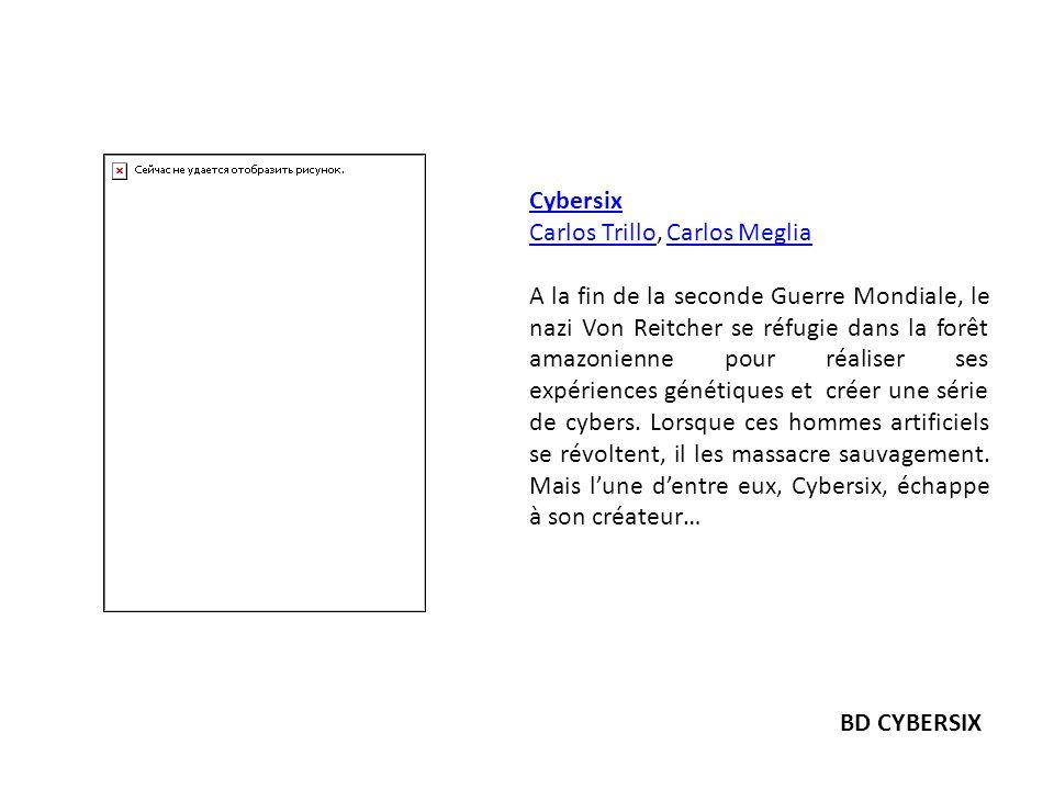 Cybersix Carlos Trillo, Carlos Meglia.