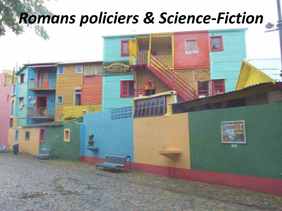 Romans policiers & Science-Fiction