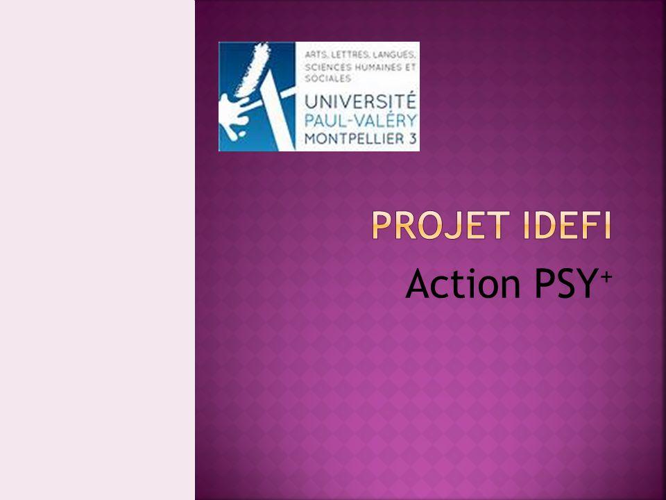 Projet IDEFI Action PSY+