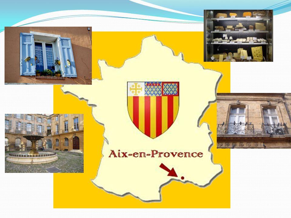 Transition: Moi, je reviendrai en France, a Aix-en-Provence, la ville où j'ai étudié quand j'étais à l'université.