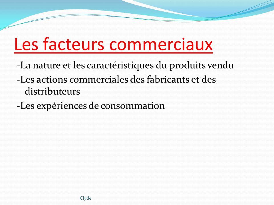 Les facteurs commerciaux