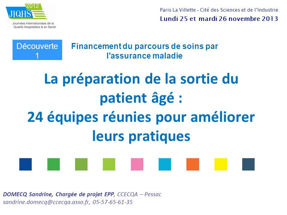 Financement du parcours de soins par l assurance maladie