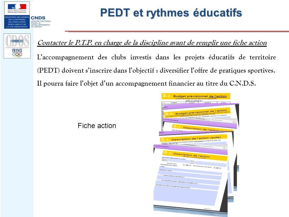 PEDT et rythmes éducatifs