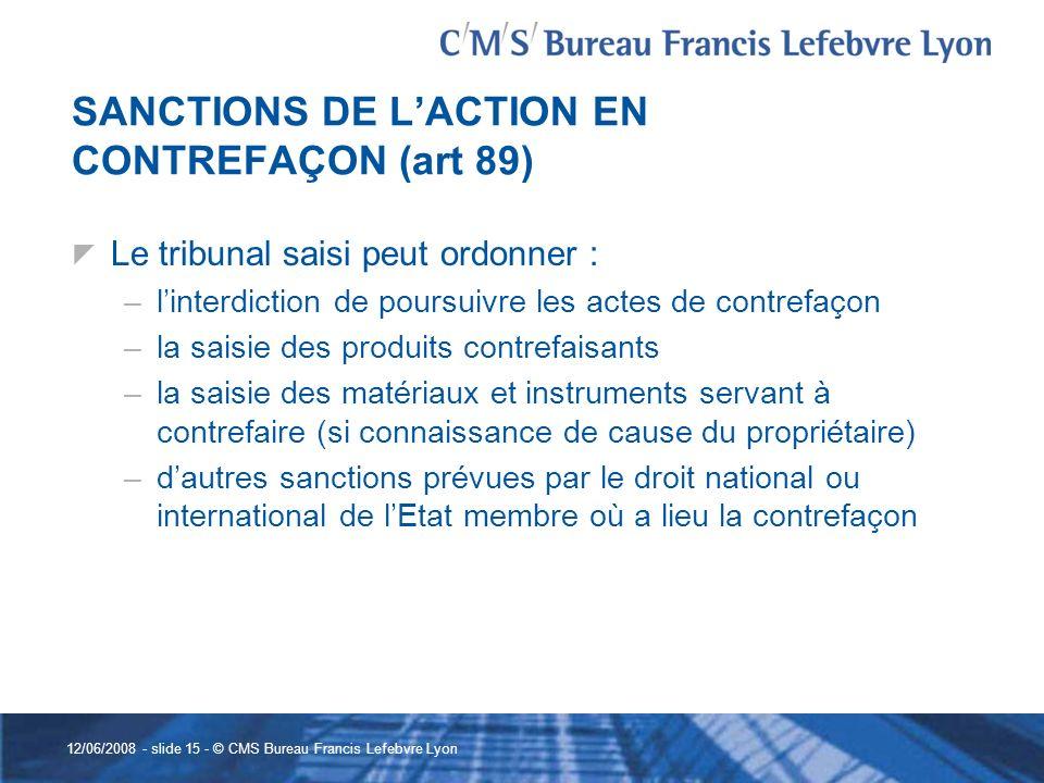 Le contentieux des dessins et modeles communautaires par - Bureau de service national du lieu de recensement ...