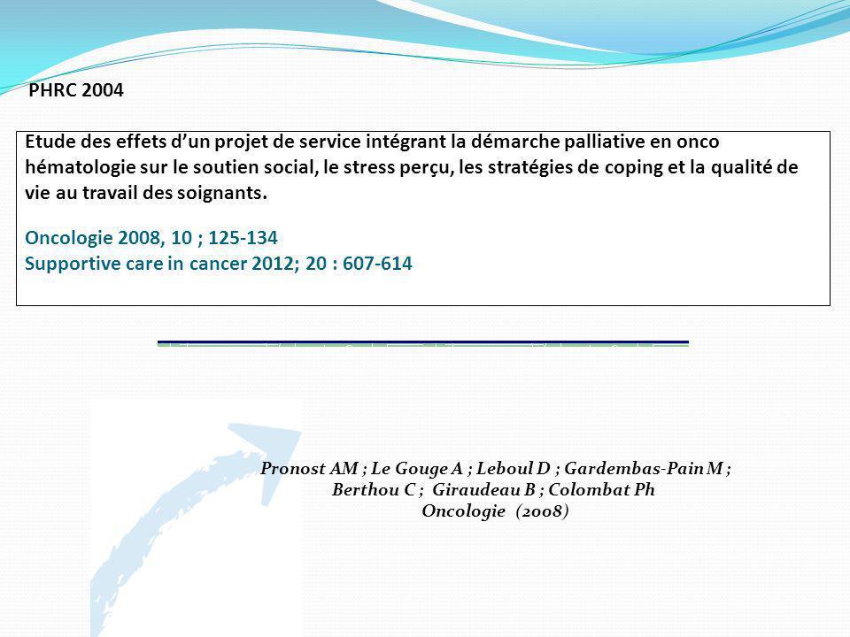 Pronost AM ; Le Gouge A ; Leboul D ; Gardembas-Pain M ;