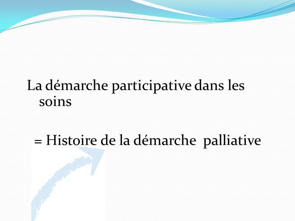 La démarche participative dans les soins = Histoire de la démarche palliative