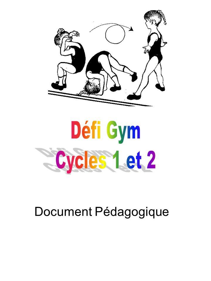 Défi Gym Cycles 1 et 2 Document Pédagogique