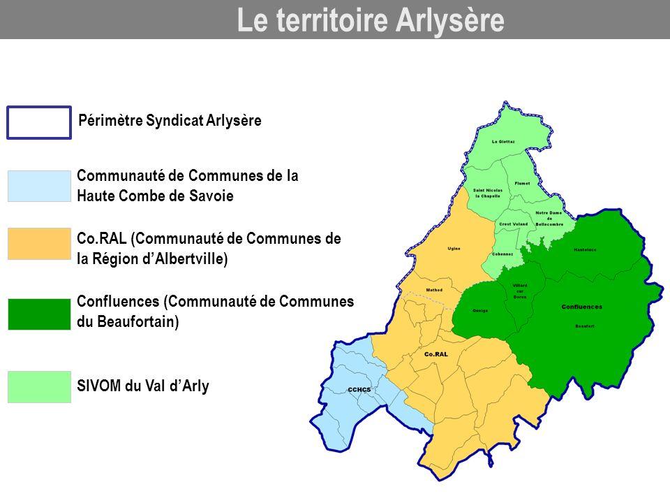 Le territoire Arlysère