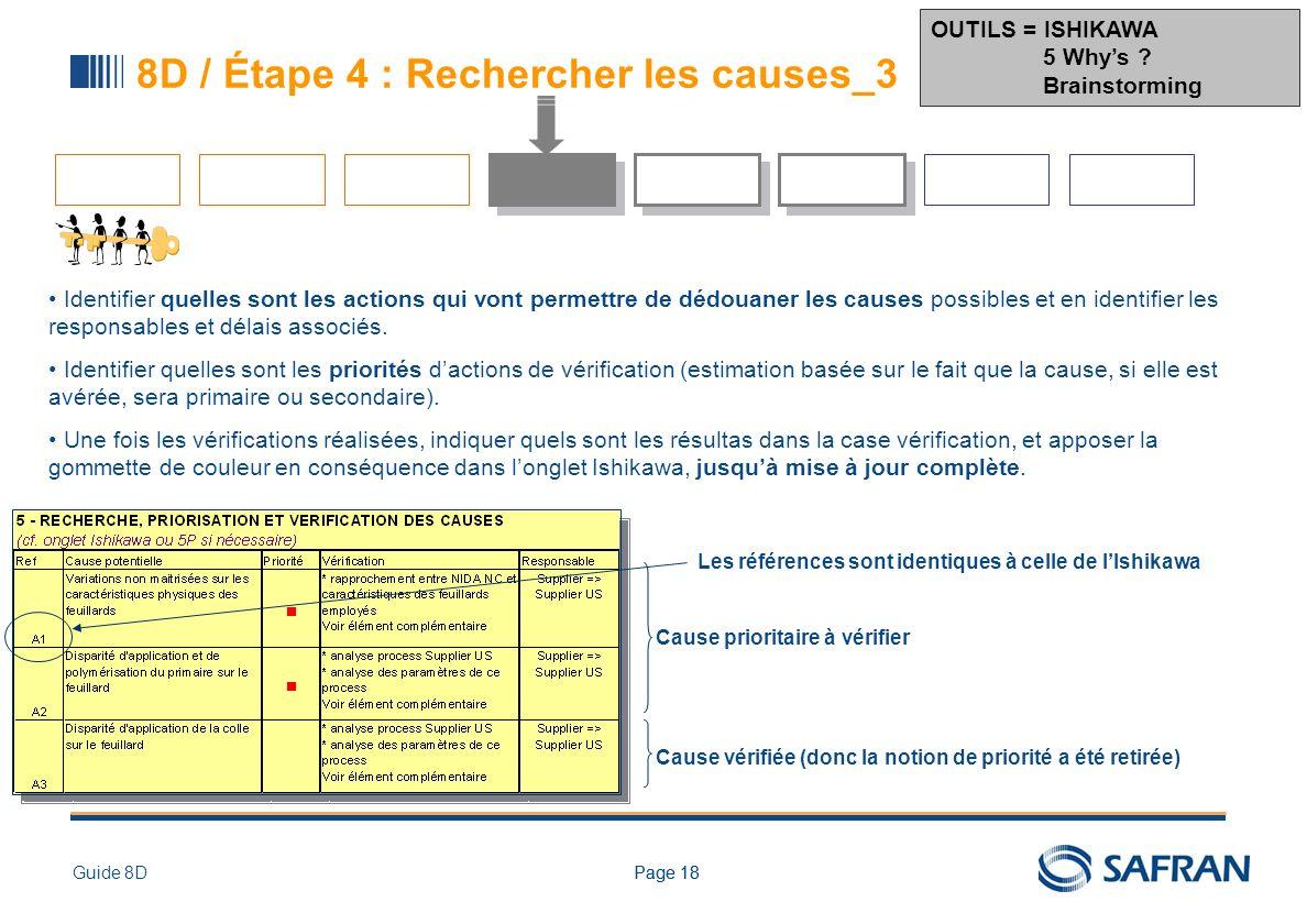 8D / VUE DETAILLEE – ETAPE 5