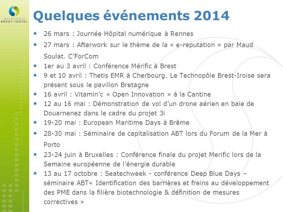Quelques événements 2014 26 mars : Journée Hôpital numérique à Rennes