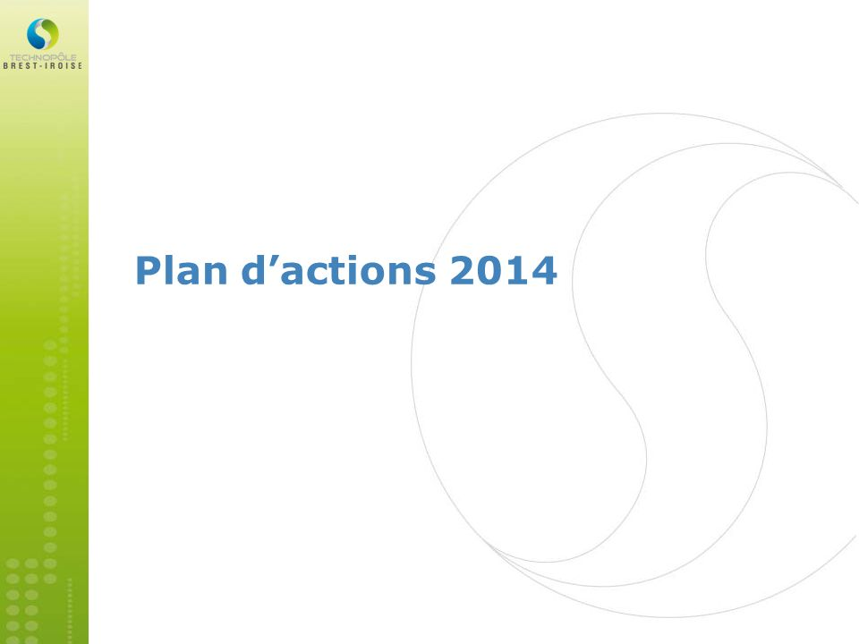 Plan d'actions 2014