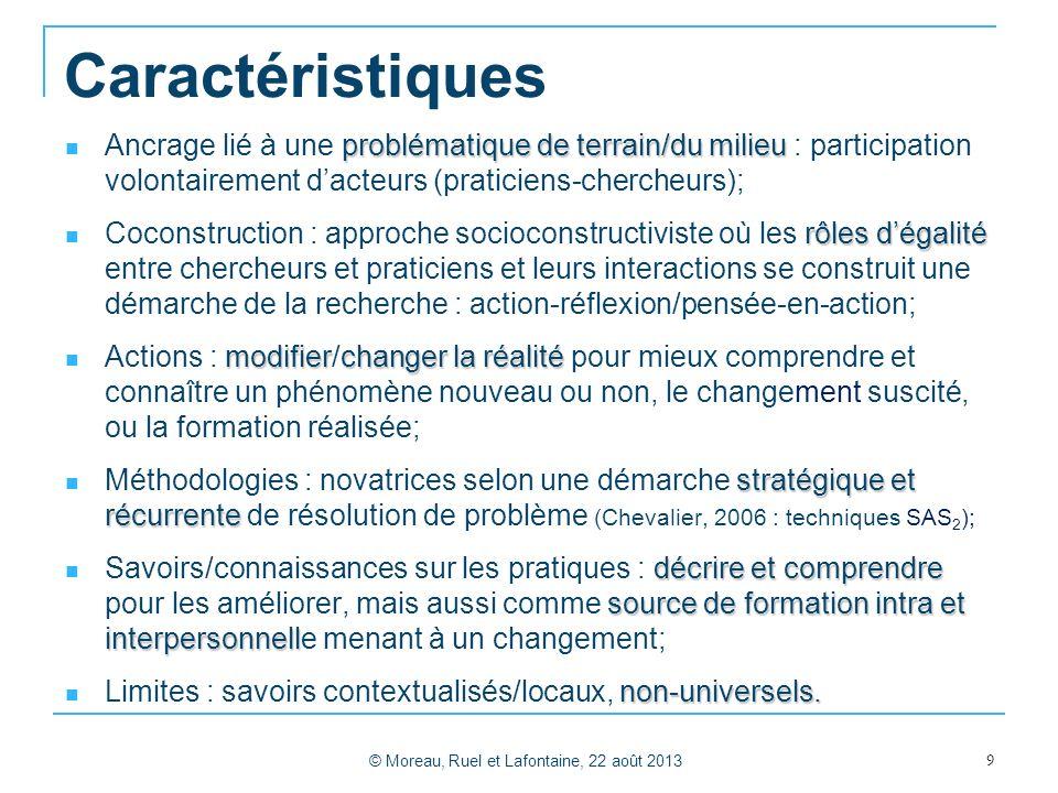© Moreau, Ruel et Lafontaine, 22 août 2013