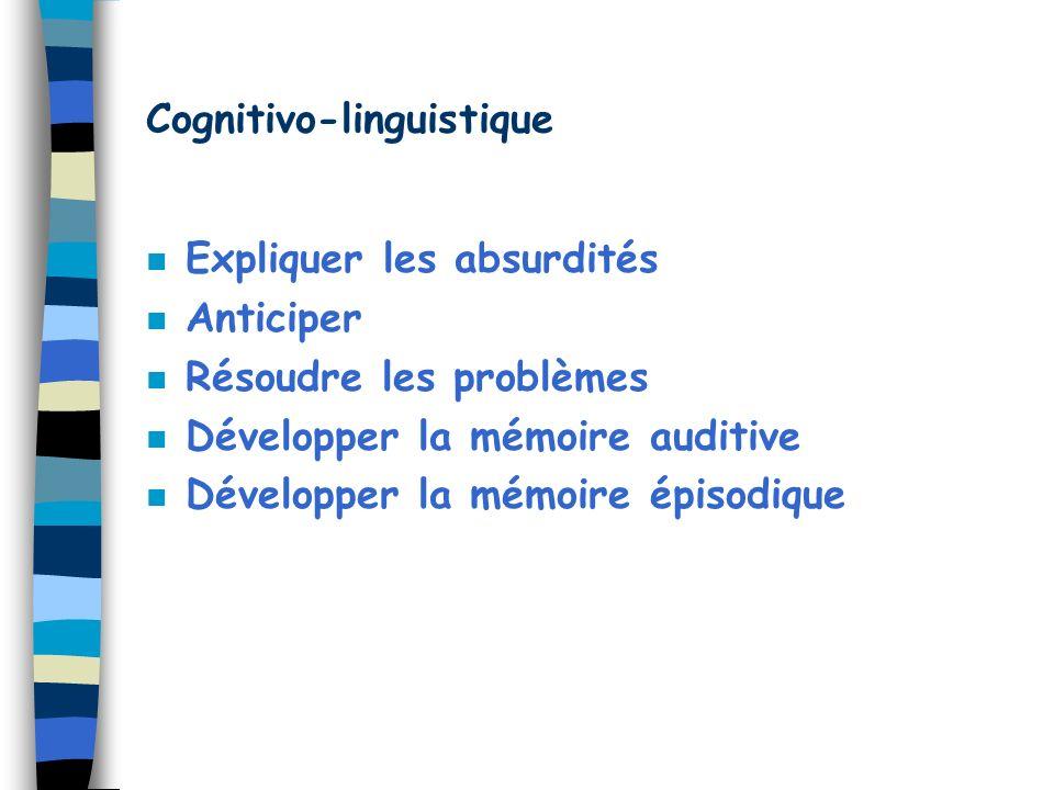 Cognitivo-linguistique
