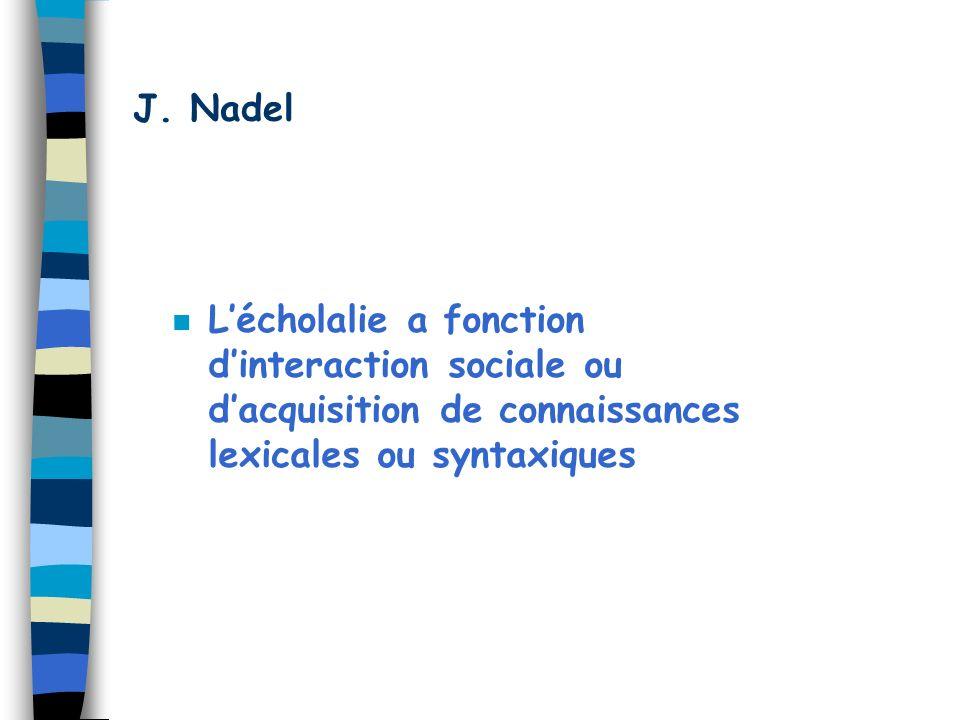 J. Nadel