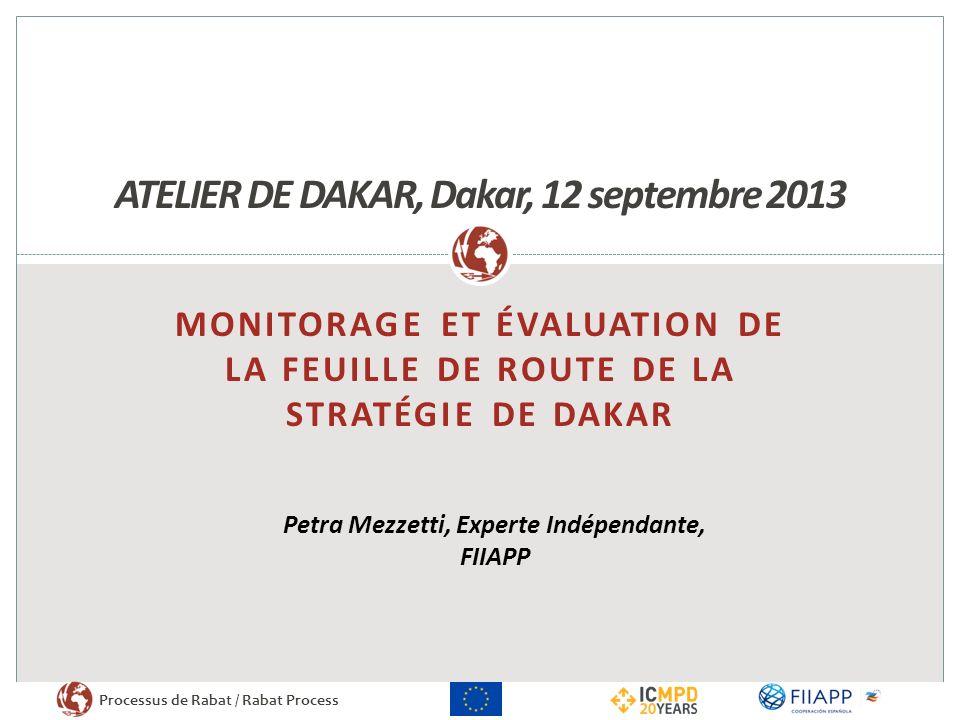 ATELIER DE DAKAR, Dakar, 12 septembre 2013