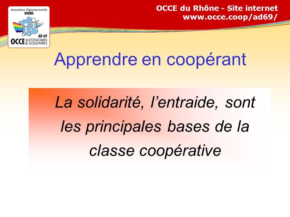 Apprendre en coopérant