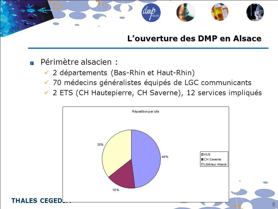 L'ouverture des DMP en Alsace