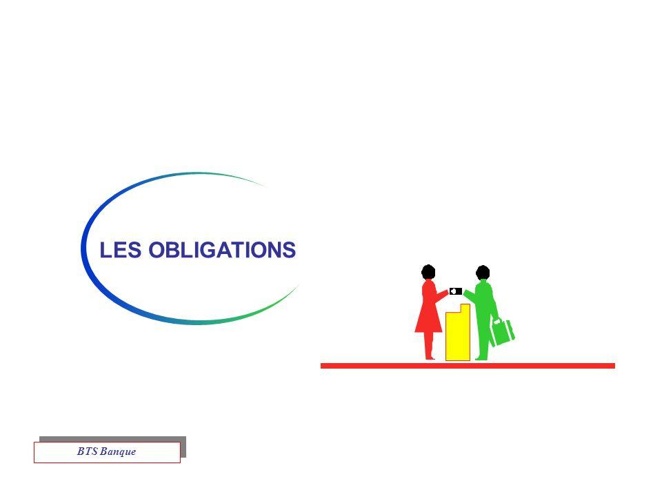 LES OBLIGATIONS BTS Banque