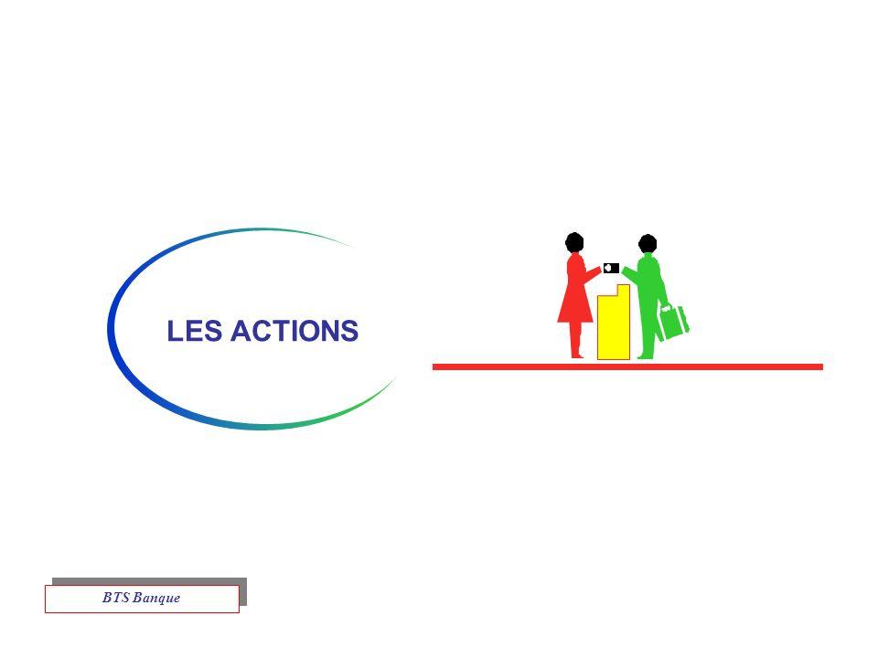 LES ACTIONS BTS Banque