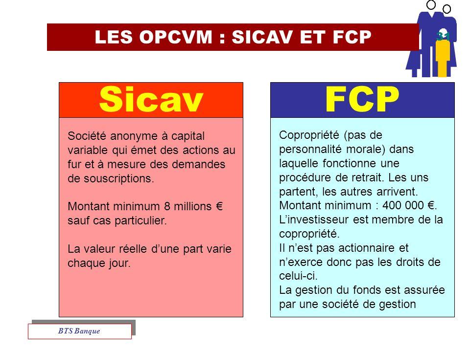 Sicav FCP LES OPCVM : SICAV ET FCP 31