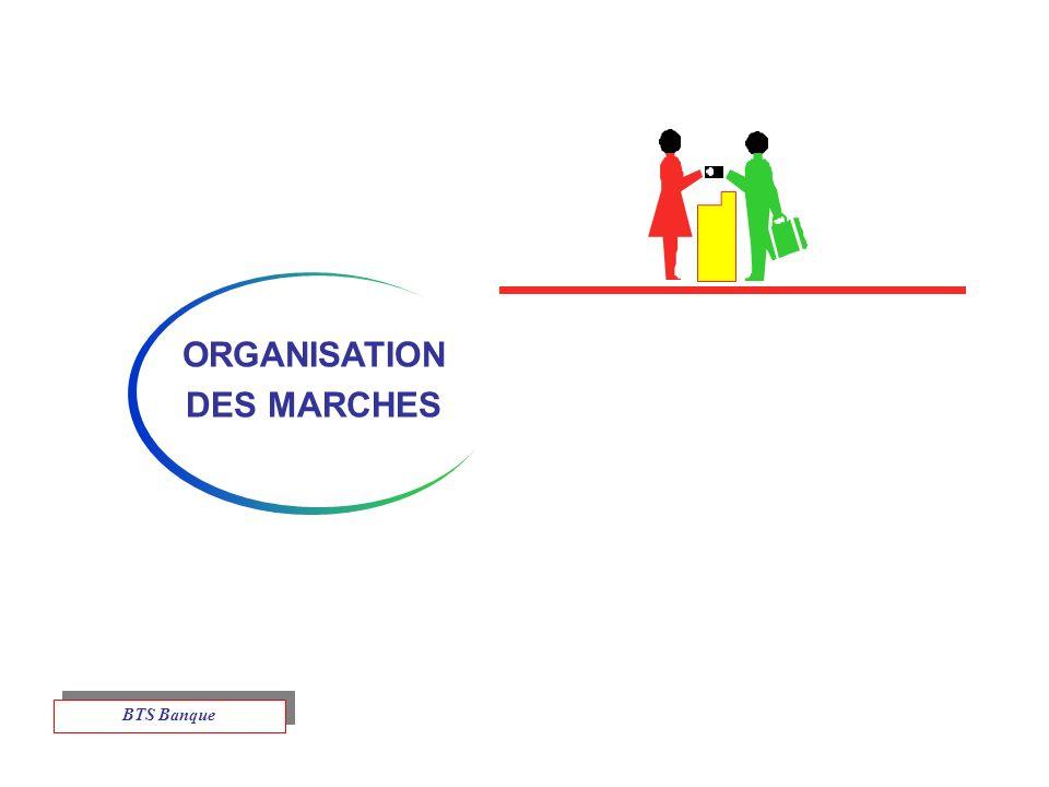 ORGANISATION DES MARCHES