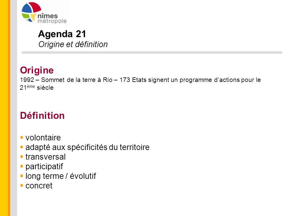 Agenda 21 Origine Définition Origine et définition volontaire