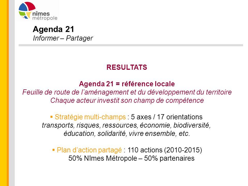 Agenda 21 = référence locale