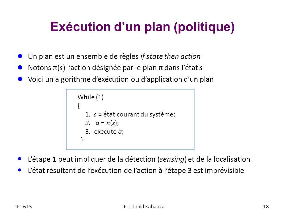 Exécution d'un plan (politique)