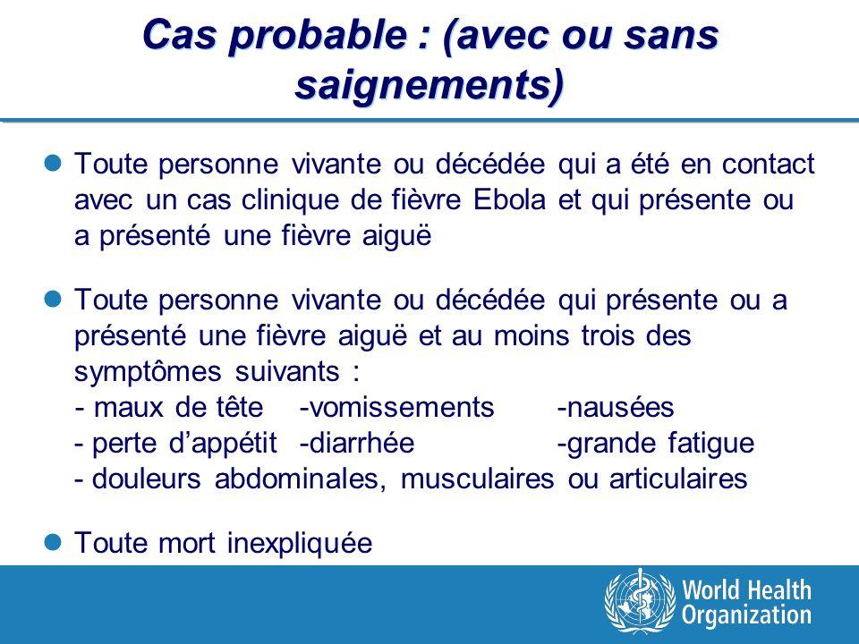 Epid mie de virus ebola ppt video online t l charger - Symptomes fausse couche sans saignement ...