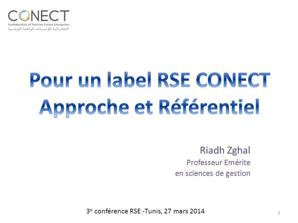 Riadh Zghal Professeur Emérite en sciences de gestion