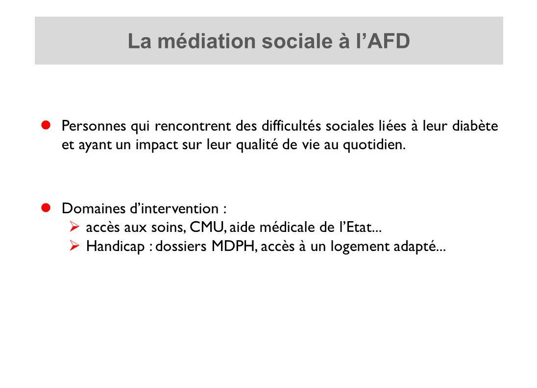 La médiation sociale à l'AFD