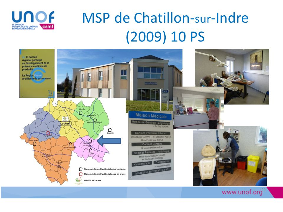 MSP de Chatillon-sur-Indre (2009) 10 PS